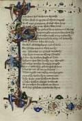 Romaunt of the Rose MS Hunter 409 fol 57v
