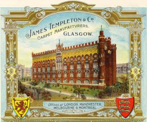 The Templeton Factory on Glasgow Green
