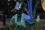 Animals in lights, Ueno Park