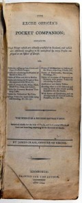 Titlepage of The Excise Officer's Pocket Companion (Edinburgh: 1794) - Sp Coll BE