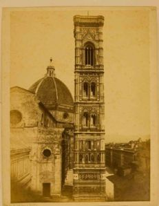 View of Florence, the Bell Tower of Giotto