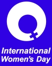 International Women's Dat logo