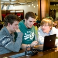 Image of Students in Library