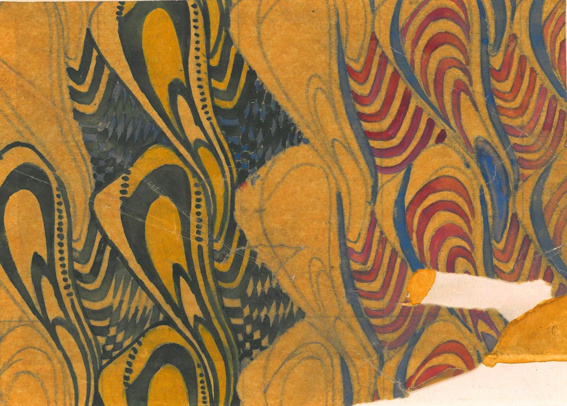 friday gem from the stoddard templeton design archive charles rennie mackintosh university. Black Bedroom Furniture Sets. Home Design Ideas