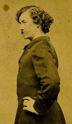 Albumen print of J McNeill Whistler