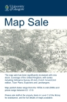 Map sale poster
