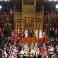 Queen delivering speech at State Opening of Parliament 2012