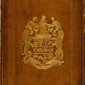 Stamped armorial binding