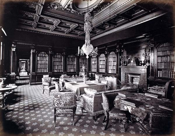 Library of Hamilton Palace