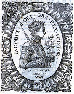 Portrait of James VI