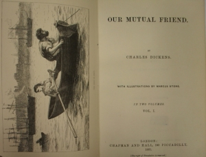 Our Mutual Friend, title page and frontis