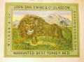 Image of a Lion on a bale bundle label