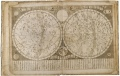 Engraved Star Map from Globus Coelestis Sinicus Explicatus Sp Coll MS Hunter 10 (S.1.10)
