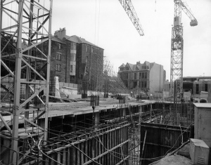 construction of university library