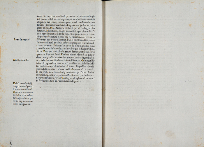 Deliberate blank spaces (Sp Coll Hunterian Bw.2.14)