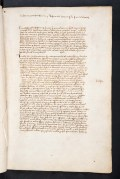 Contemporary manuscript copy of a letter sent to Pope Innocent VIII relating to Ottoman relations with the Papacy (17 November 1487). Folio 1r. Sp Coll Bn7-b.4.