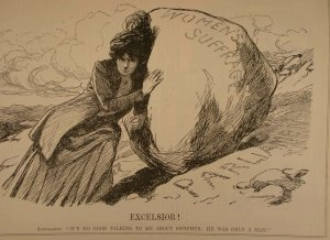 On woman's suffrage from Punch, 13 June1910