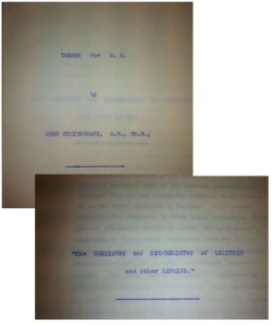 Images of John Cruickshank's thesis