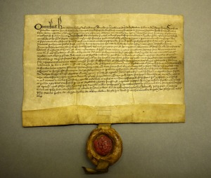 BL 7: donation of Donald McLachlan granting 40 shillings yearly to the Black Friars