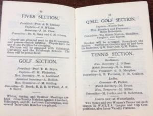 GUAC Handbook 1924-25