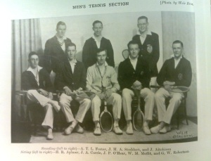 Men's Team Photo 1928-29