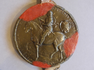 Seal of Oliver Cromwell (BL 453)