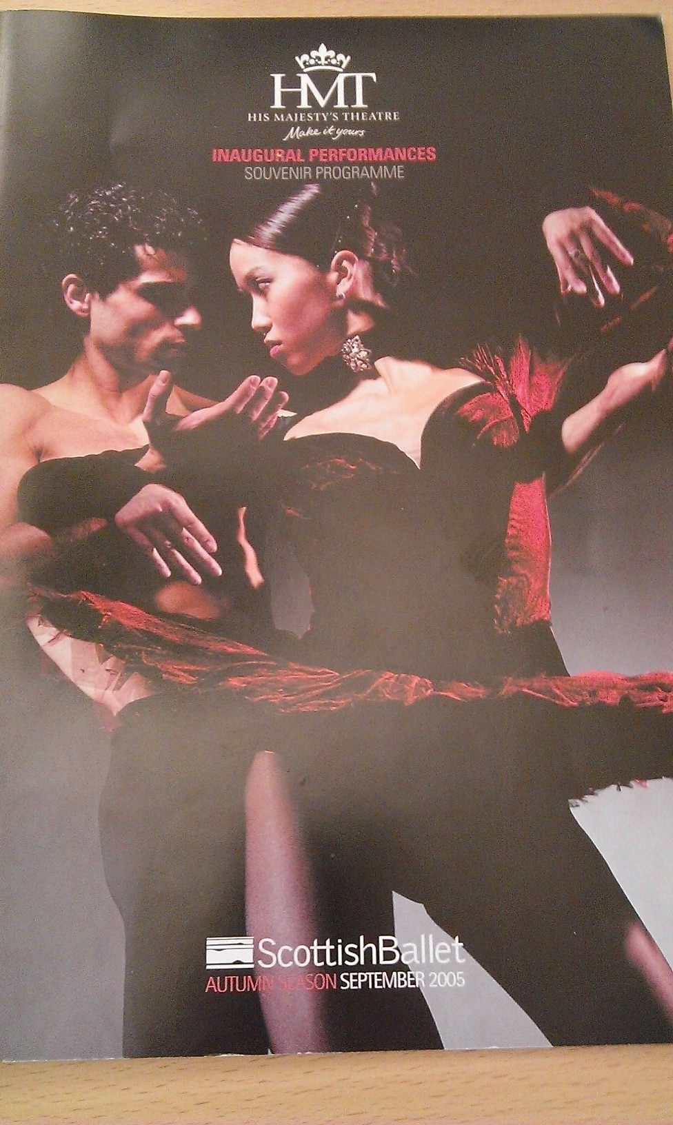 Scottish Ballet programme (STA SB 710/67)