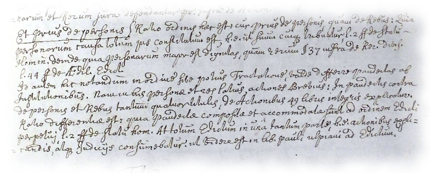 Forbes's commentary (MS Gen 1256, p.65)