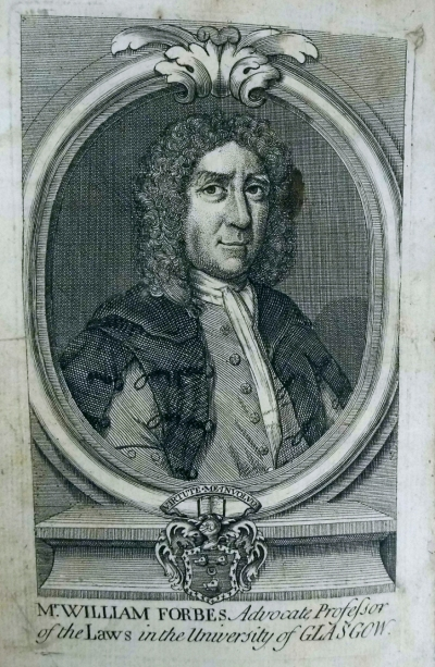 Portrait of William Forbes (Sp Coll Mu3-f.28)