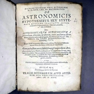 "Ursus's ""De Astronomicis Hypothesibus"" (Sp Coll Bk4-f.15)"