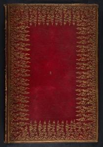 Front binding of Albertus Magnus (Sp Coll BD9-a.9)