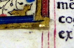 Detail of pasting in (Sp Coll BD9-a.9)