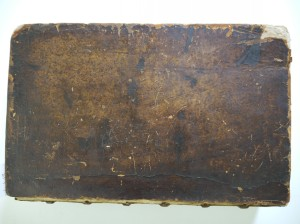 Image showing damage to the front cover