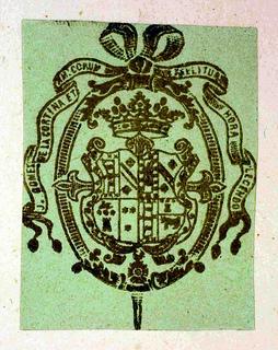 Bookplate of Morante