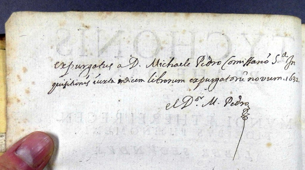 Confirmation of expurgation (verso of titlepage) (Sp Coll Hunterian R.5.19)