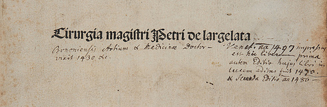 Title-page of 1497/98 edition