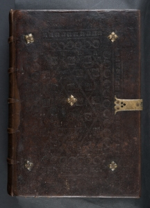 Binding of Nicolaus de Lyra (Sp Coll Bk5-b.3) - possibly made in the Netherlands?