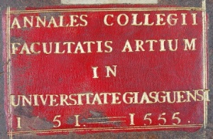 The Annals of the Faculty of Arts, 1451-1555