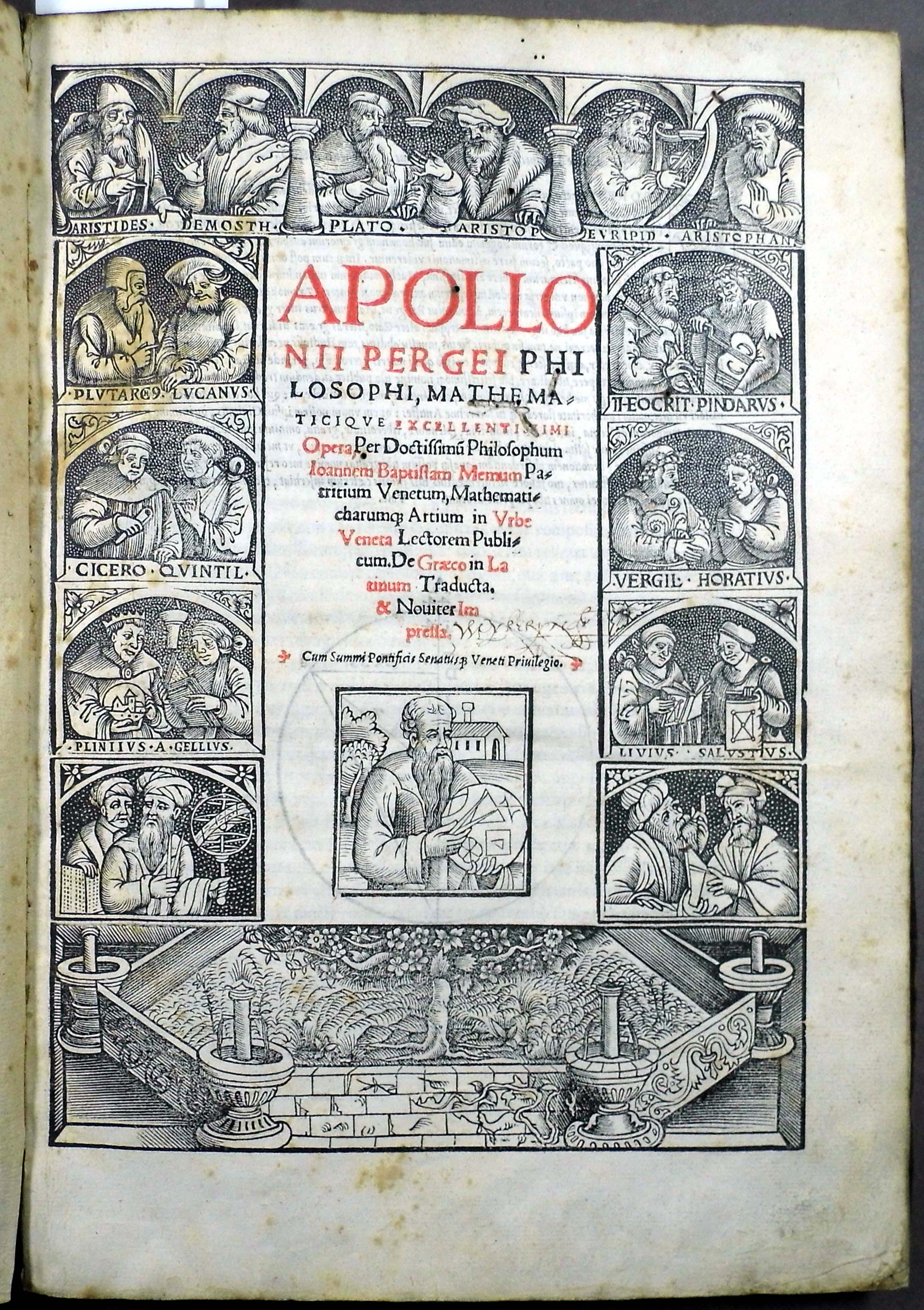 an introduction to the history of apollonius of perga Apollonius of perga apollonius of perga apollonius was a great mathematician, known by his contempories as  the great geometer,  whose treatise conics is one of the greatest scientific works from the ancient world most of his other treatise were lost, although their titles and a general indication of their contents were passed on by later.