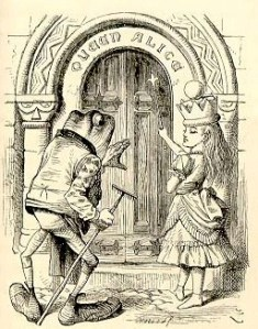Illustration from Through the Looking Glass (Sp Coll Hepburn 99)