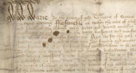 Example of writing - bl-394 - Mary Qof Scots