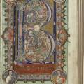 The Hunterian Psalter, folio 22r (MS Hunter 229)