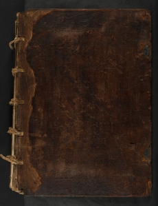 Binding of Pharetra doctorum et philosophorum (Sp Coll Hunterian Cm.1.2)