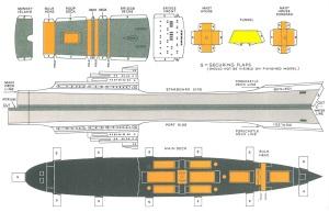Build your own model Benledi ship template