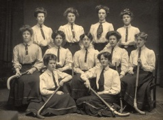 Queen Margaret College Hockey Club, 1907-8 (DC233/2/22/2/63)