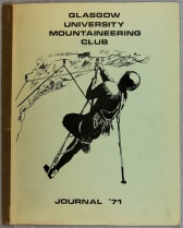 Glasgow University Mountaineering Club Journal 1971, UGC190/1/3