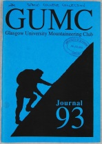Glasgow University Mountaineering Club Journal 1993, UGC190/1/6
