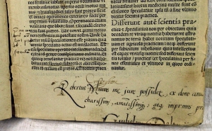Early provenance in Boece's Explicatio quorundam vocabulorum (Sp Coll Bl5-h.9)
