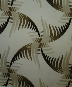 Figure 4 Design 'Spanish Comb' by David Taylor, illustrated in British Designers, Their Work Series 1, 1941 from the Stoddard Design Library by permission of the Glasgow School of Art Library, Special Collections.