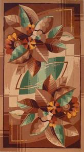 Figure 1 Design by Taylor Studio, Polmont STOD/DES/122/4/8, gouache on paper, 45cm x 41cm Glasgow University Archive Services